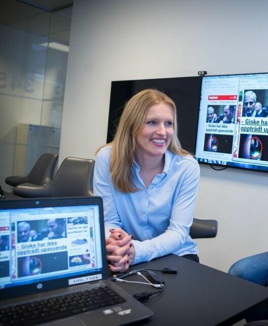 Redaksjonssjef i Dagbladet, Hilde Karin Schjerve.