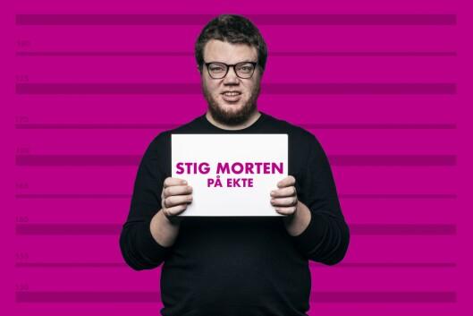 Stig Morten Lorentzen Waage, prosjektleiar, NRK Satiriks