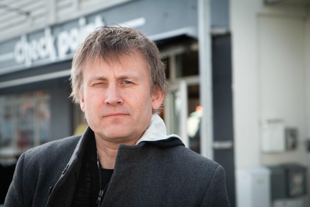 Fridtjof Borø Nygaard, redaktør i de tre Schibsted-avisene i sør.