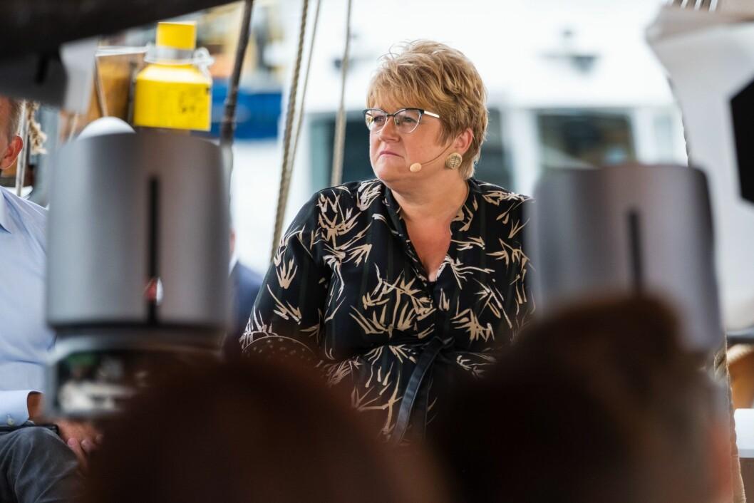 Kulturminister Trine Skei Grande (V) under Arendalsuka i 2018.