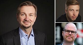 Nå får Gard Steiro og Lars Joakim Skarvøy føle hvordan Trond Giske hadde det