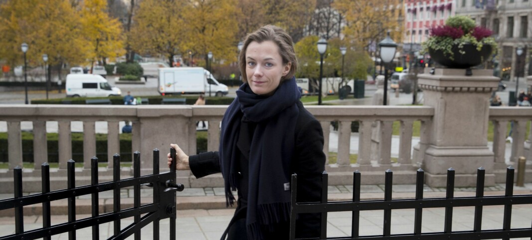 Trettebergstuen blir kulturminister