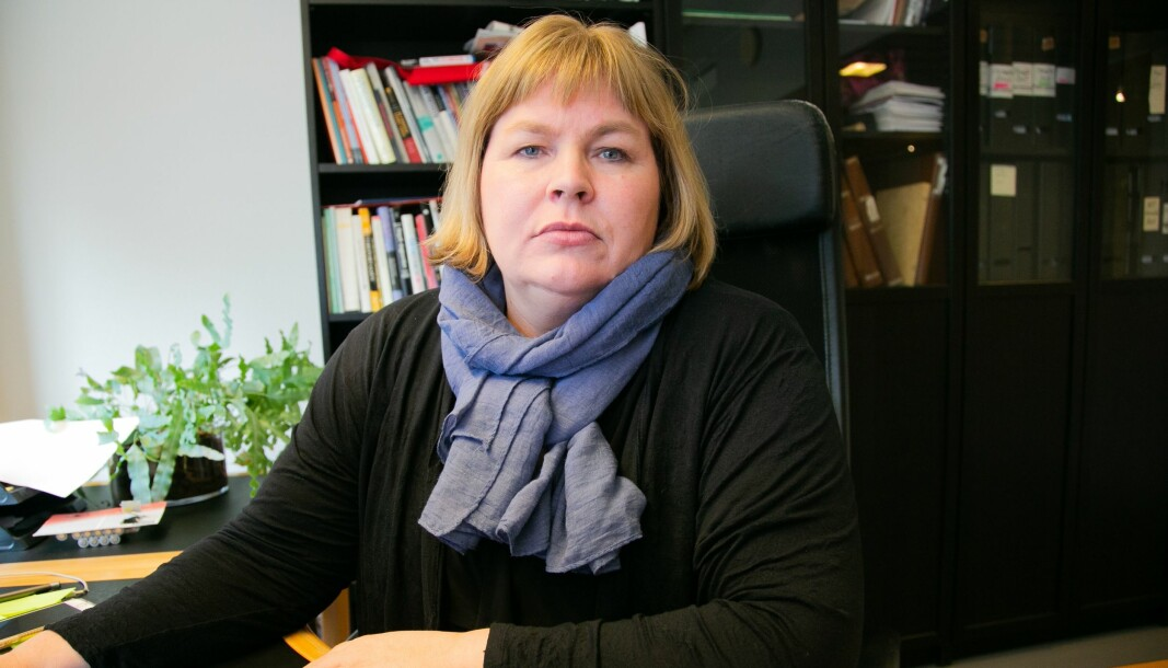 Generalsekretær i Norsk Presseforbund Elin Floberghagen.