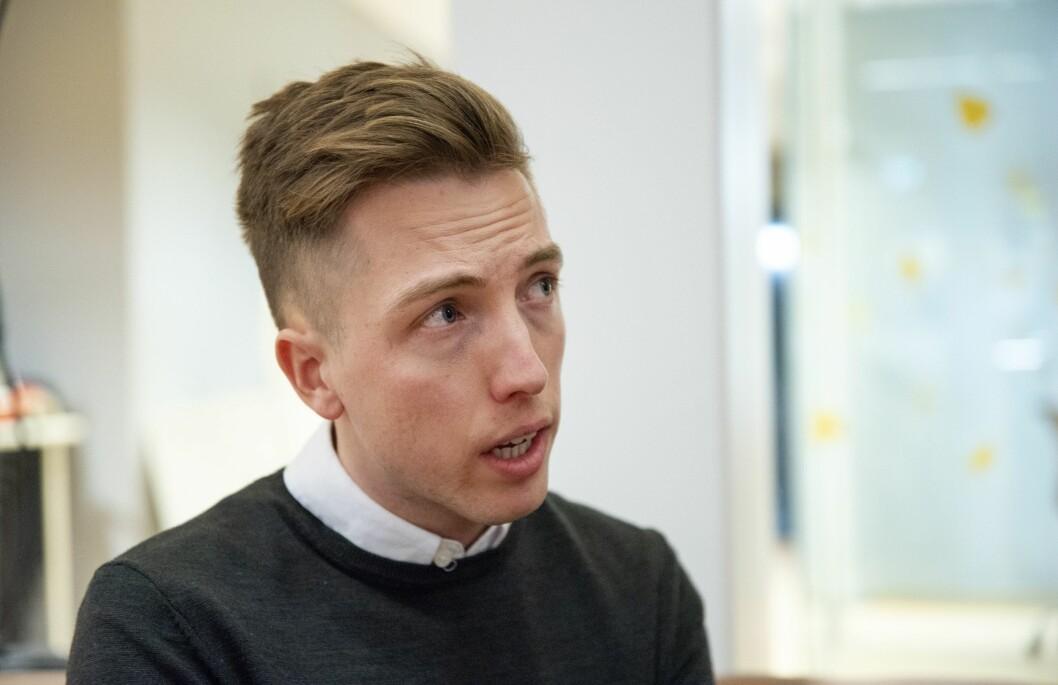 Lars Joakim Skarvøy, politisk journalist i VG.