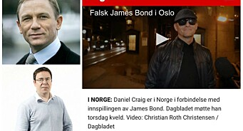 NRK Satiriks lurte Dagbladet med falsk James Bond: - Det skal selvsagt ikke skje