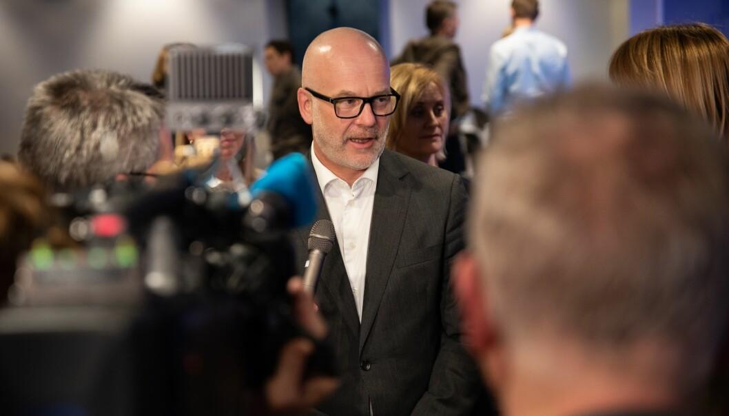 Kringkastingssjef Thor Gjermund Eriksen er fremdeles den i NRK som tjener mest.