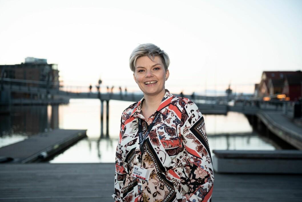 Silje S. Skiphamn, styreleder i SKUP.