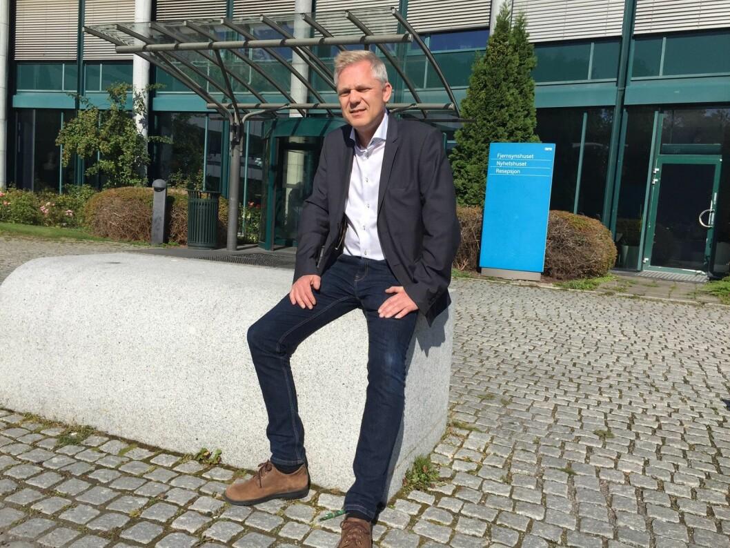 Lars Kristiansen, redaktør i NRK
