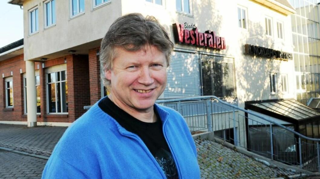 Ansvarleg utgjevar Karl-Einar Nordahl i Bladet Vesteråle.