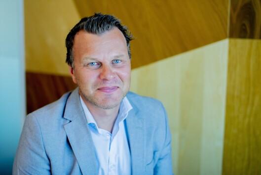 Svein Ove Hansli, nyheitsredaktør i Nationen