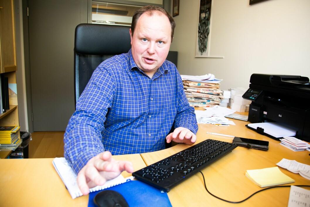 Financial Times-journalist Richard Milne. Han er korrespondent for Baltikum og Norden for den engelske avisa.