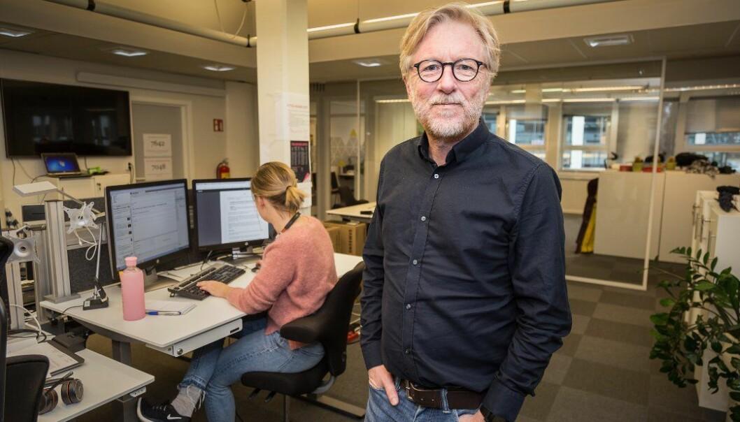 Ansvarleg redaktør i Firda, Kai Aage Perdersen.