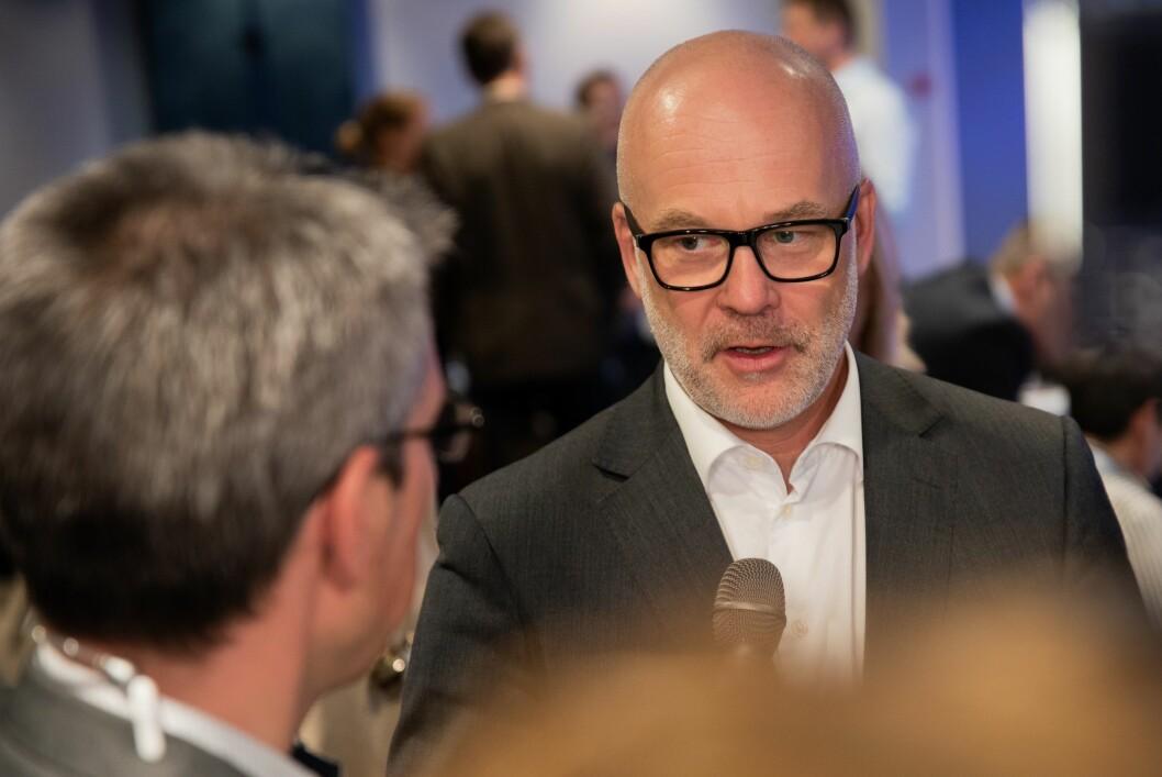Kringkastingssjef Thor Gjermund Eriksen i NRK.