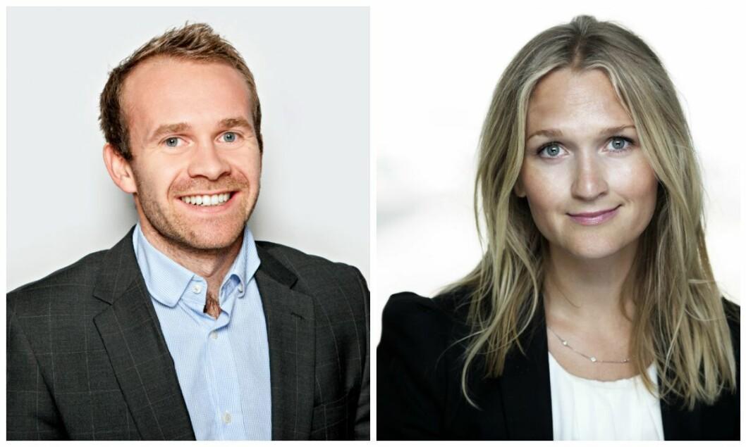 Henrik Wiedswang Horjen (32) ny kommunikasjonssjef i Sjømat Norge og Kristin Langeland (36) blir ny kommunikasjonsdirektør.