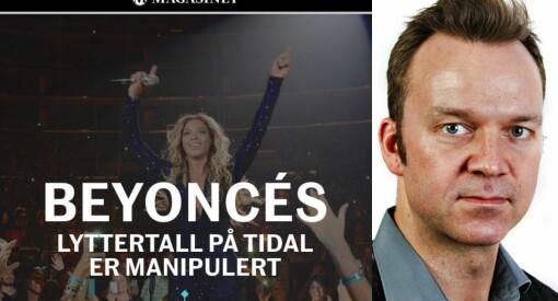 Aftenpostens Joacim Lund skreiv kritisk kommentar om DNs Tidal-avsløringar. Så sletta avisa heile artikkelen