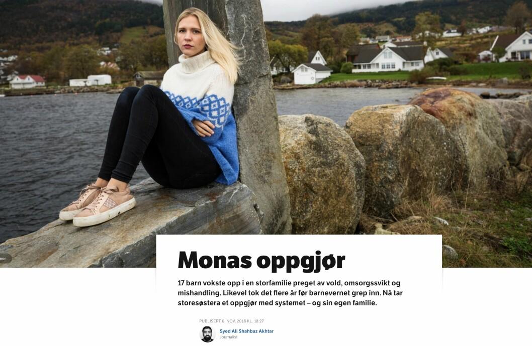 Monas oppgjør - NRK.
