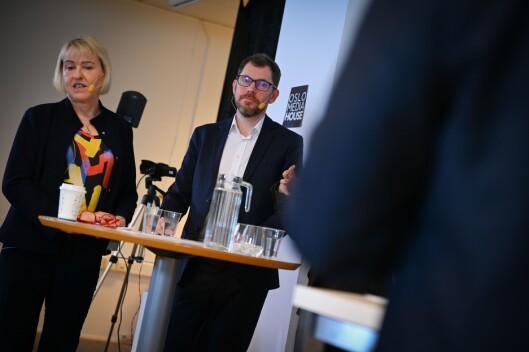Grethe Gynnhild-Johnsnen og Bjørn Kristoffer Bore.