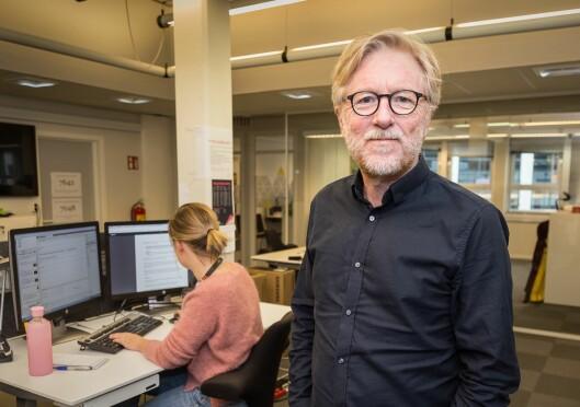 Kai Aage Perdersen, ansvarleg redaktør i Firda Media AS.
