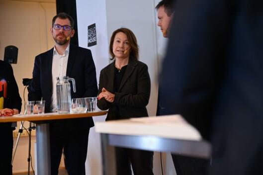 Bjørn Kristoffer Bore og Kjersti Sortland.