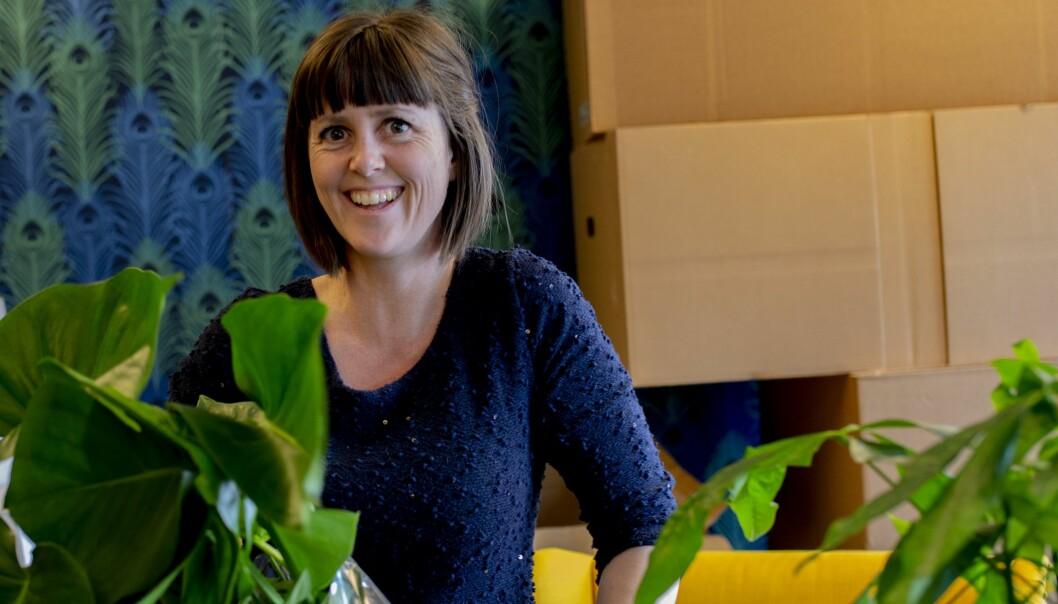 Marie Olaussen i Tønsbergs Blad synes det er veldig stas at podkasten, Strandkongene, gjør suksess på topplistene.
