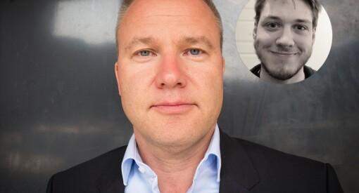 Helge Lurås oppfordret til boikott av medier i fjor. Men når Resett selv «saboteres» er det plutselig problematisk