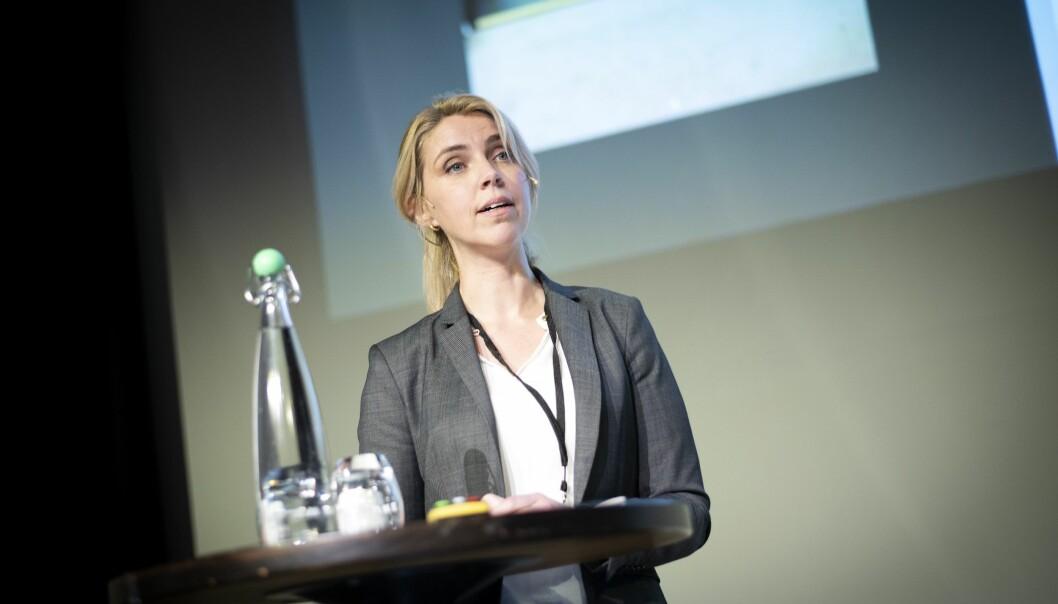 Sjefredaktør og administrerande direktør Alexandra Beverfjord i Dagbladet.
