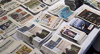 Fortsetter fallet: Kun 30 prosent leser papiravis daglig