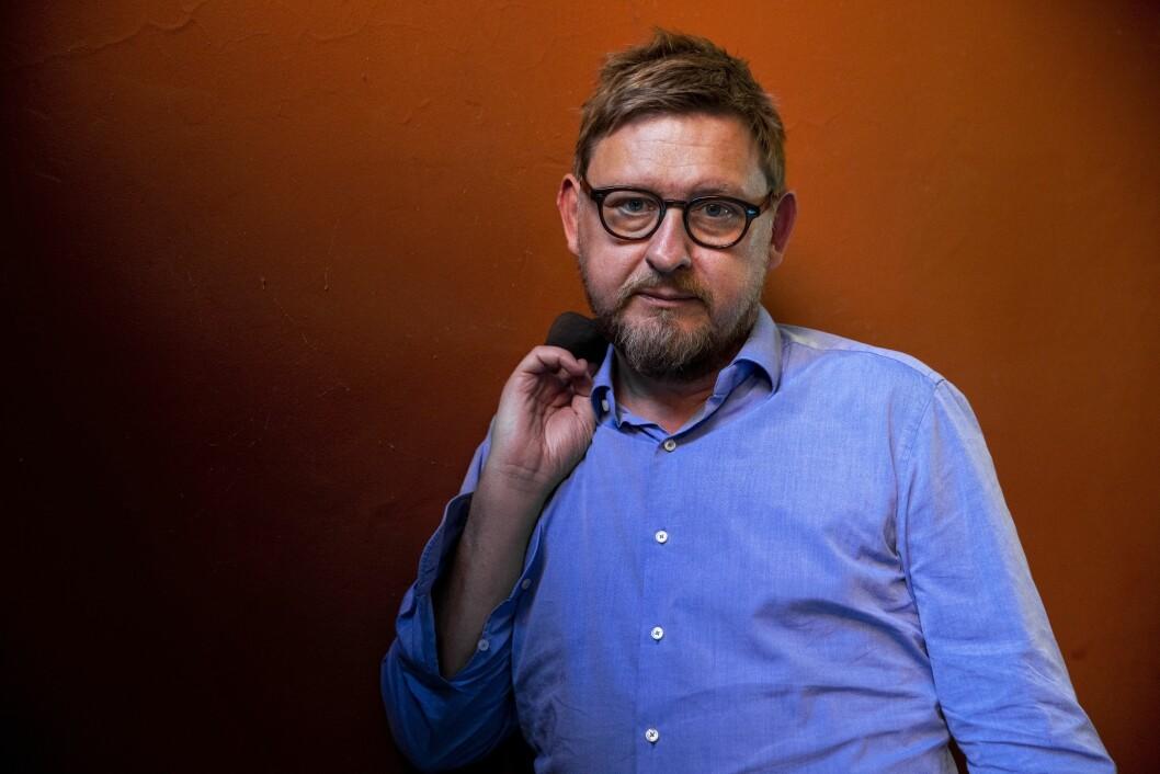 """Metoo har ikke bare falt heldig ut i Sverige, sier Fredrik Virtanen, aktuell med boken """"Uten nåde"""".Foto: Tore Meek / NTB scanpix."""