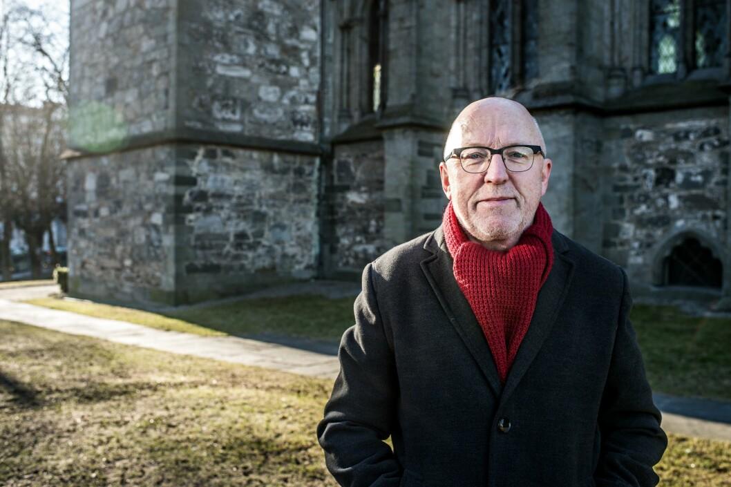 Sven Egil Omdal, utvalgsleder for Norsk Presseforbunds utvalg om kildehåndtering.