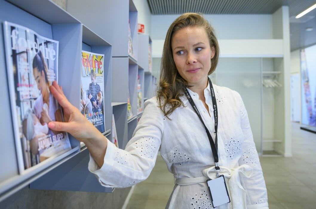 Martine Lunder Brenne tror Børsen også vil gå forbi DN på sidevisninger.