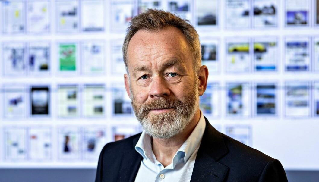 Amund Djuve, sjefredaktør i Dagens Næringsliv.