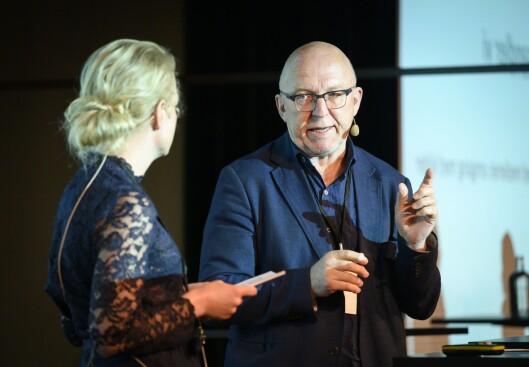 Sven Egil Omdal, leiar av kjeldedeutvalet til Norsk Presseforbund.