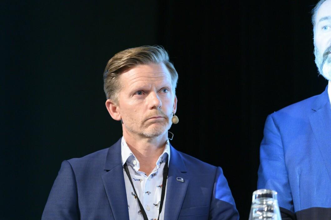 Tage Pettersen (H) i mediedebatt.