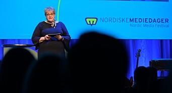 Kulturministeren åpnet Mediedagene i Bergen med stikk til postlov-kritikerne