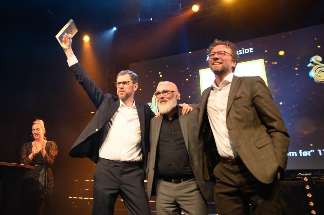 Vårt Land vant pris for årets forside for «Klima – vi fortsetter bare som før».