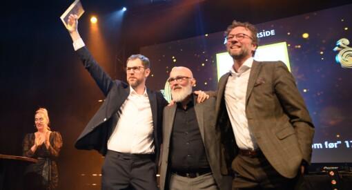 Vårt Land har laget årets forside. Dagbladet stakk av med prisen for årets feature for «Barnevernets engler»