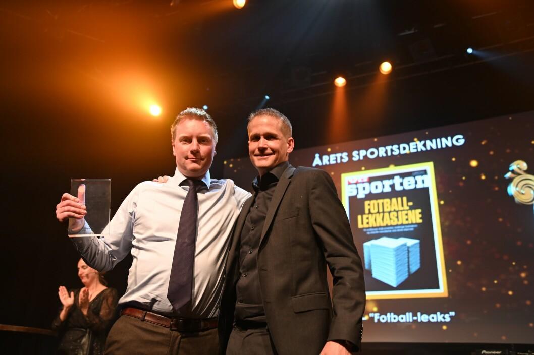 VG vant årets sportsdekning for «Football Leaks».