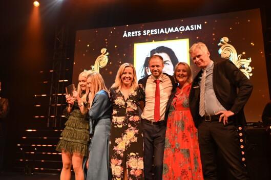 VG vant årets spesialmagasin for «Voldtatt».