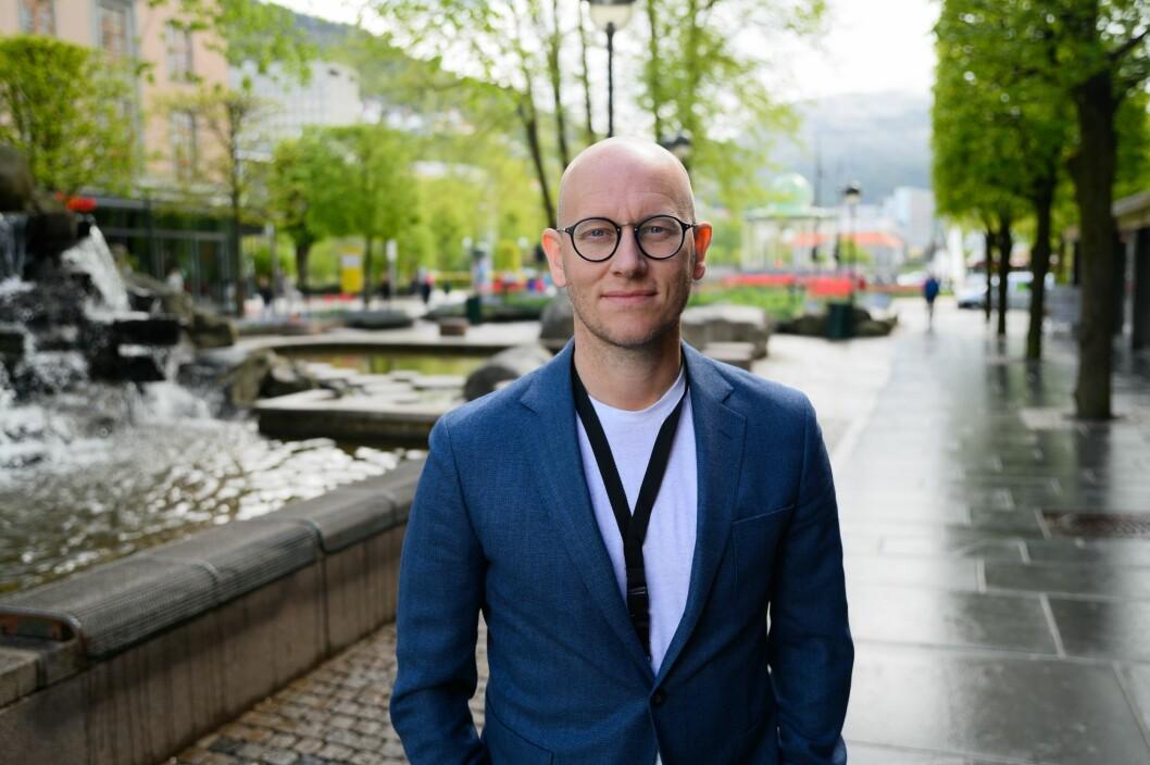 Ola Stenberg, digitalredaktør i VG.