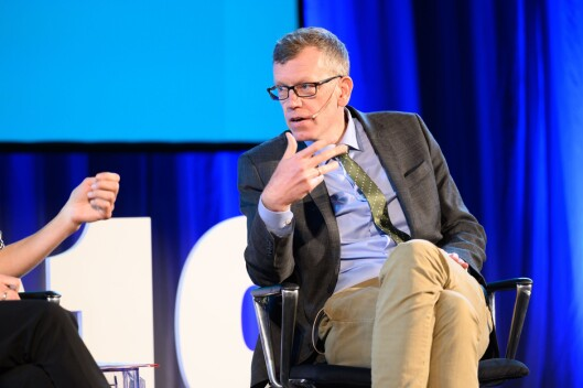 Politisk redaktør i Dagens Næringsliv, Kjetil B. Alstadheim.