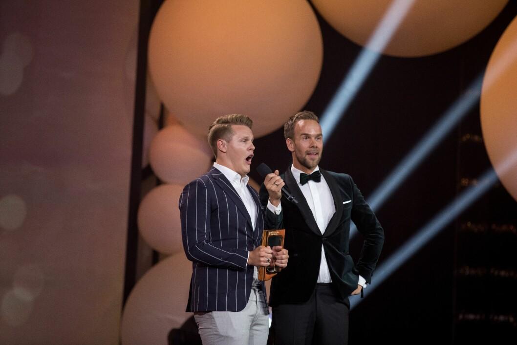 Vegard Harm og Morten Hegseth vant publikumsprisen.