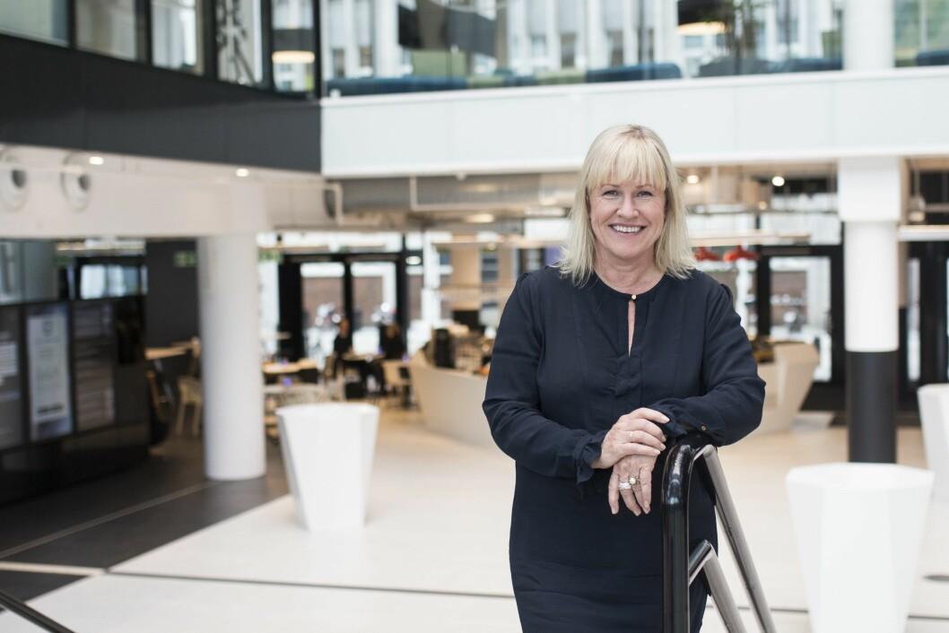Festivalsjef Guri Heftye i Nordiske Mediedager.