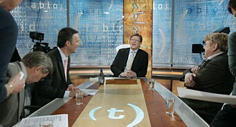 Ti år etter Tabloid vart lagt ned er TV 2 framleis utan debatt på hovudkanalen: – Ikkje gitt opp, seier redaktør