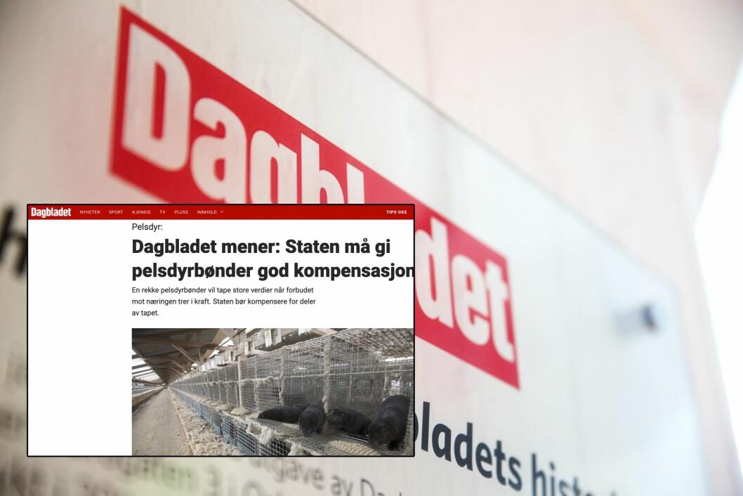 Nei, det er ikke funnet regelbrudd i halvparten av tilsynene med pelsdyrnæringen, skriver Faktisk om Dagbladets lederartikkel.