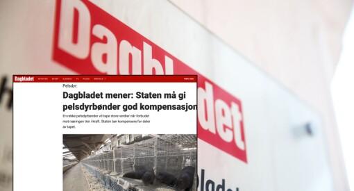 Faktisk tok Dagbladets lederartikkel i faktafeil