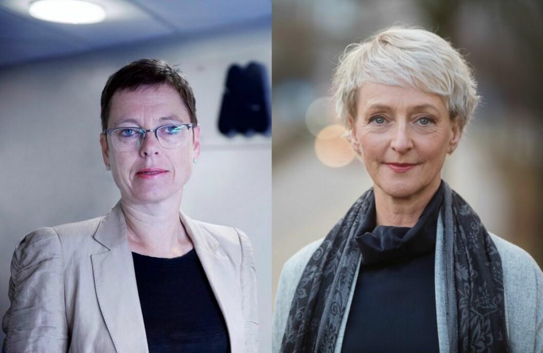Mari Velsand, direktør i Medietilsynet, ogElisabeth Lier Haugseth, direktør i Forbrukertilsynet.