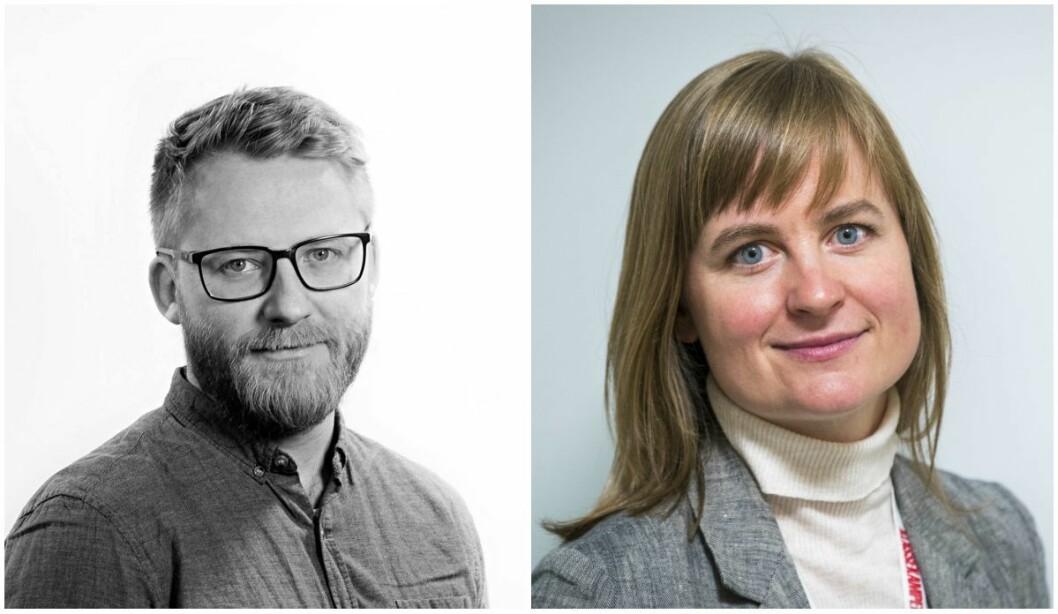 Journalist Bjørn S. Kristiansen går til Klassekampen. Klassekampen-redaktør Mari Skurdal gleder seg til han blir med på laget.