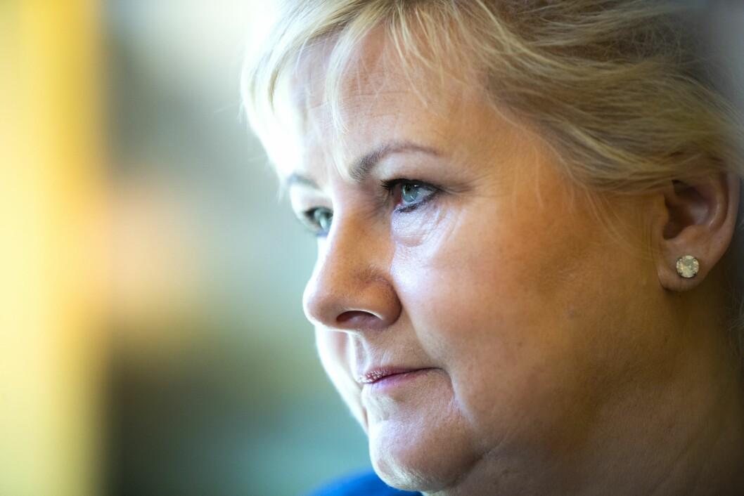 Statsminister Erna Solberg. Foto: Berit Roald / NTB scanpix