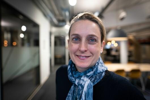 NRK-journalist Astrid Rommetveit er prosjektleiar for kanalen si klimaarbeidsgruppe.