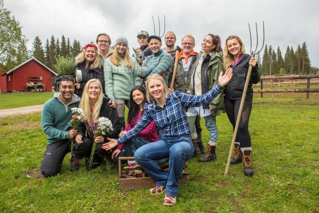 Her er alle deltakerne som skal delta på Farmen Kjendis.